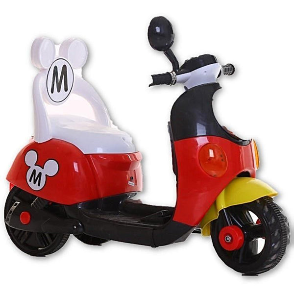 Three colors Mickey Child ride on electric toy motorcycle bike For 1-5 years old age baby - SilkRoads Online