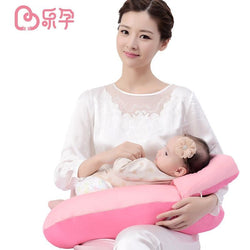 Leyun Breastfeeding Nursing Pillow Baby Body Pillow Cotton Multi Function Baby Learn Sit Pillow - SilkRoads Online