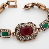 Ancient Gold Plated Vintage Bracelets Classic Jewelry - SilkRoads Online