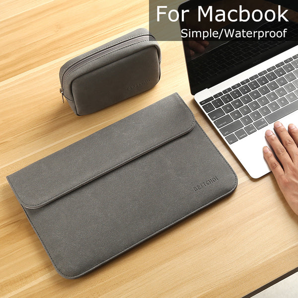 New Matte Laptop Sleeve for Macbook air pro - 11 New 12 15 Notebook Case Solid