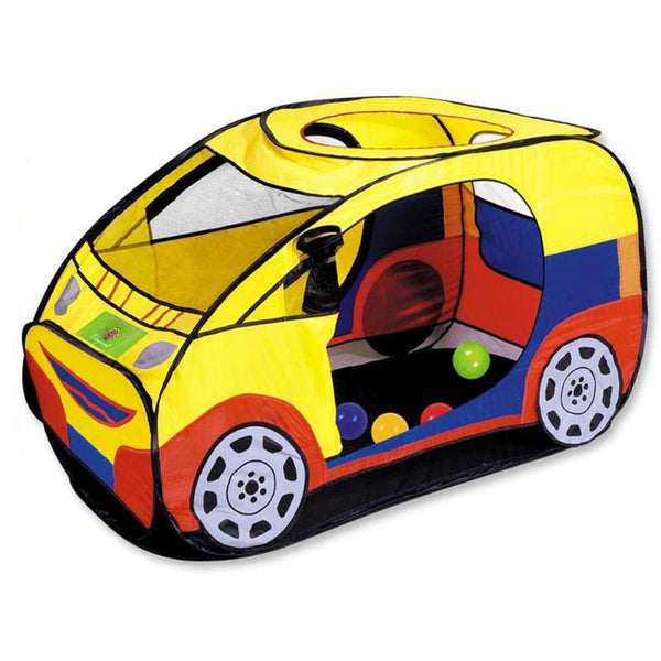 Children's Play Portable Fold-able Cartoon Car Shape Tent Outdoor Indoor
