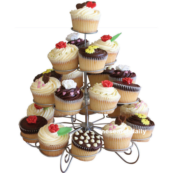 23 Cups European-style multi-function Tree Shape Party Cupcake Stand - SilkRoads Online