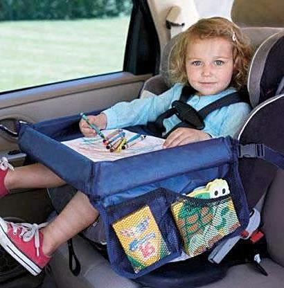 Baby Car Waterproof Safety Seat Snack Play N Travel Tray - SilkRoads Online