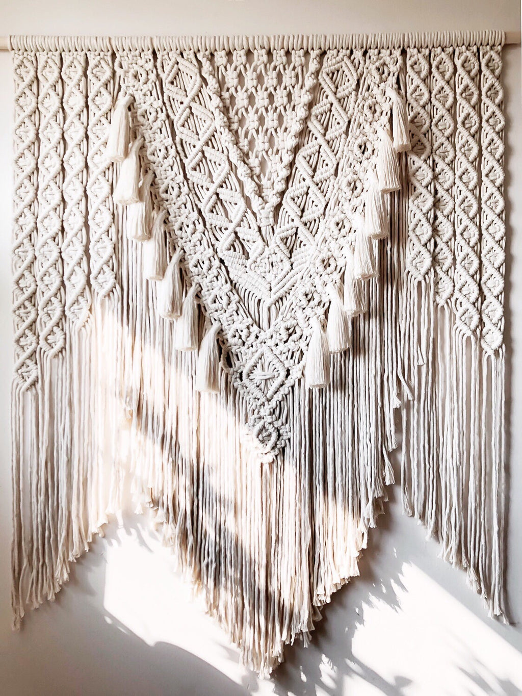 Layered Macrame with Tassels