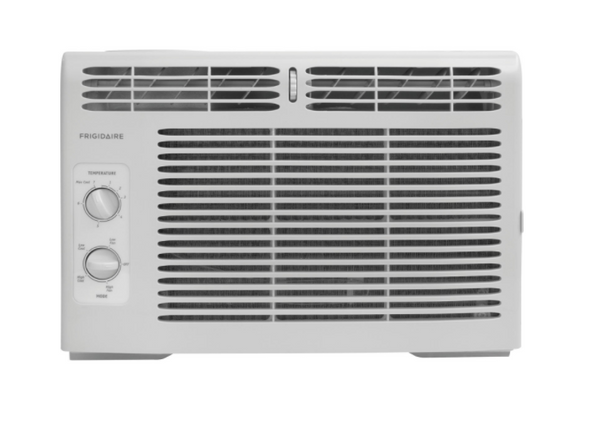 Frigidaire FFRA0511R1 5, 000 BTU 115V Window-Mounted Mini-Compact Air Conditioner with Mechanical Controls, 15 x 16 x 12 inches