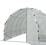 13' x 9.5' x 6.5' Heavy Duty Backyard Greenhouse Garden Flowers Soil Beds Veggies Fruits
