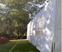 10' X 30' FT WHITE CANOPY EVENT TENT WITH WINDOWS **TOP SELLER**