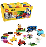 LEGO Classic Medium Creative Brick Box Building Toys for Creative Play; Kids Creative Kit (484 Pieces)