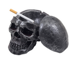 Spooky Human Skull Ashtray