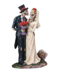 Day of the Dead- Love Never Dies Wedding Couple Figurine