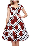 DAY OF THE DEAD Vintage Swig Dress