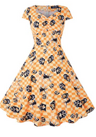 HOO Are You Looking at? Pinup Dress