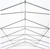 40' x 20' Party Tent Event Canopy with Sidewalls and Windows - White