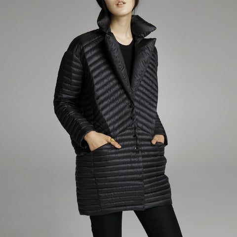 2016 Thin down coat medium-long