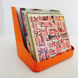flipbin record storage and display tangerine model 45