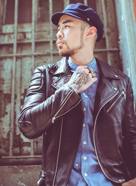 Oldies No.392 Leather Jacket
