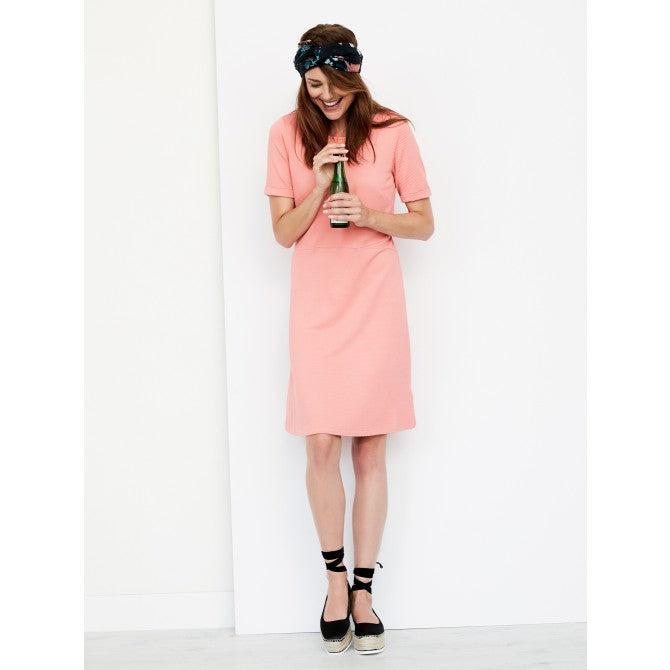 Coral Viscose Dress by Sandwich