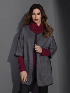 Cover Story Cocoon Coat by Foil Clothing