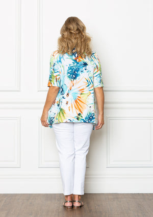 Tropical Summer Top by Swish Clothing