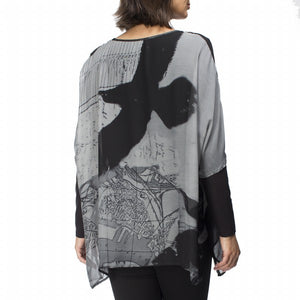 Printed Georgette Top by Hammock & Vine