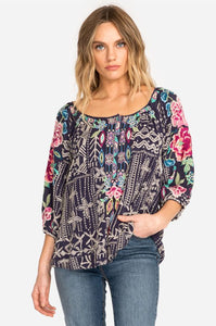 Trista Blouse by Johnny Was