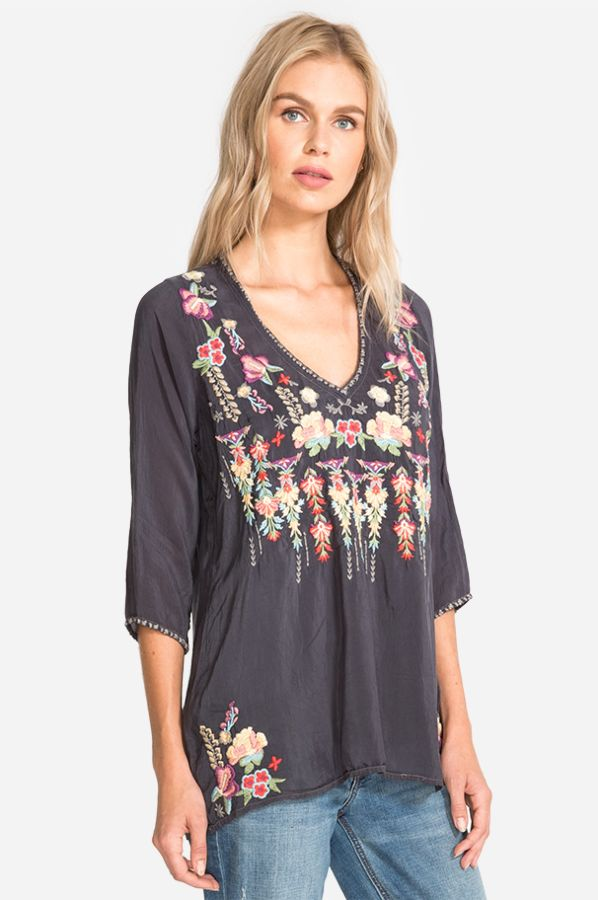 Nixie Blouse by Johnny Was