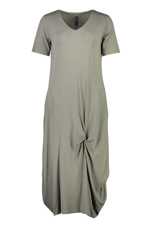 Soft Focus Twist Front Dress by Foil