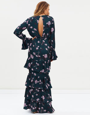 Birdie Ruffle Maxi Dress by Pasduchas