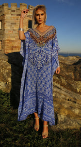 Opera Silk Long Kaftan