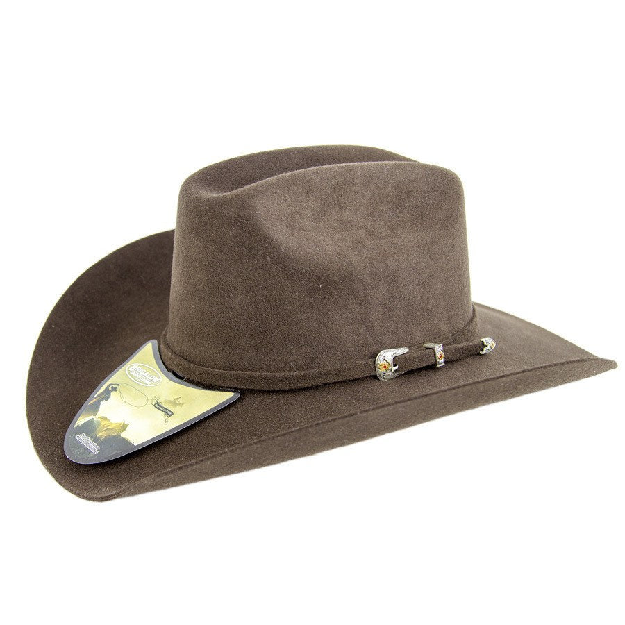 Brigalow Acorn/Brown Wool Felt Hat - Freestyle Saddlery