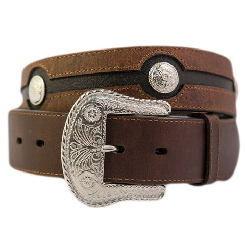 Chocolate Leather Belt - Freestyle Saddlery