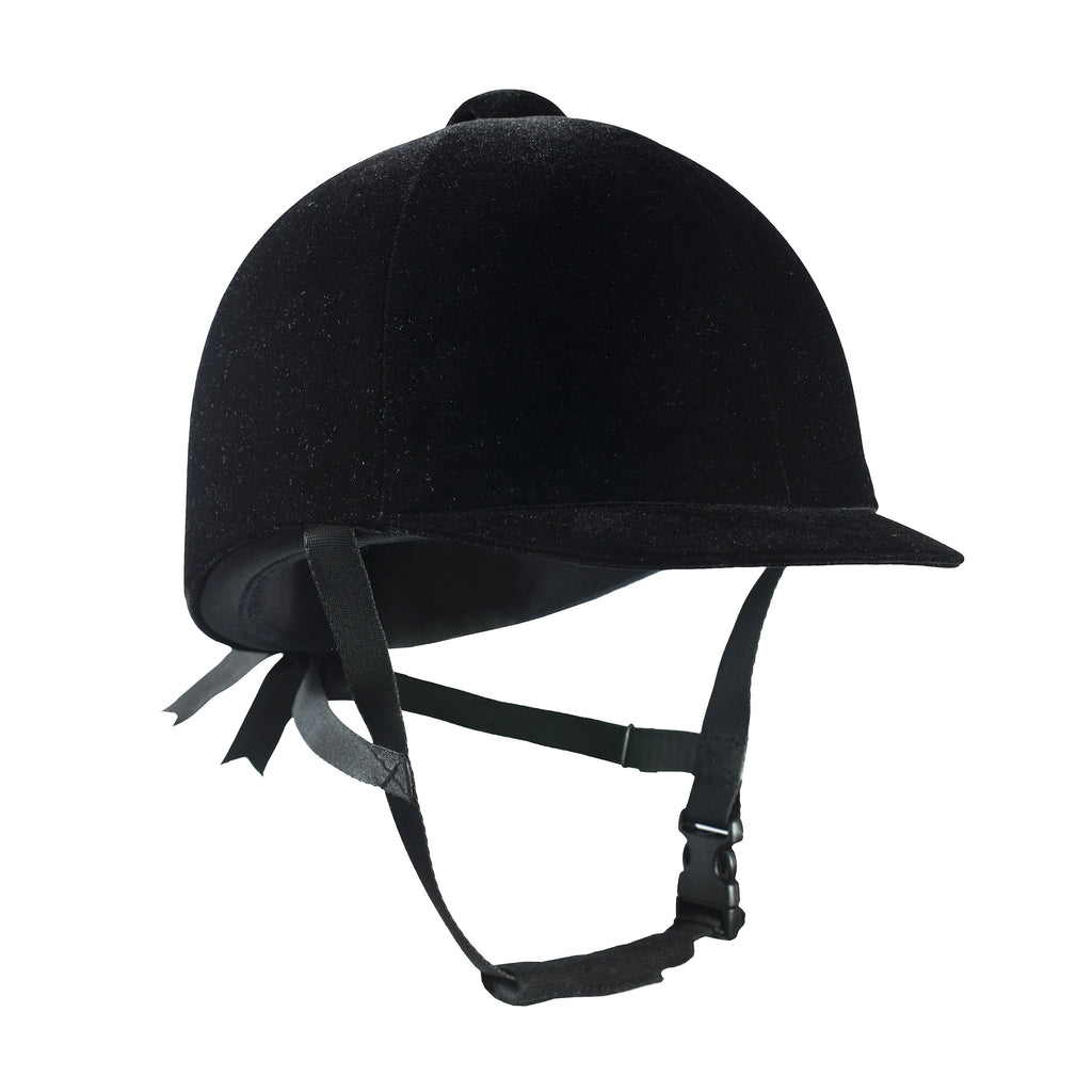Helmet Black Velvet Horze - Freestyle Saddlery