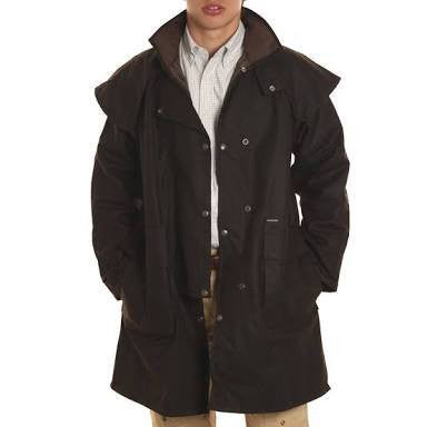 DrizaBone short oilskin coat - Freestyle Saddlery