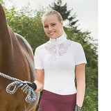 Show shirt w/Lace detail by Horze