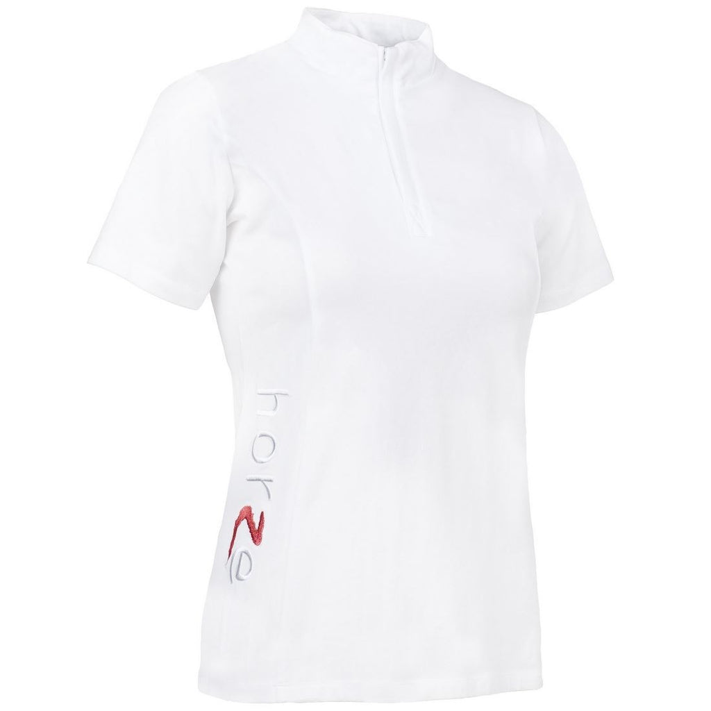Shirt Horze Showoff Short sleeve shirt - Freestyle Saddlery