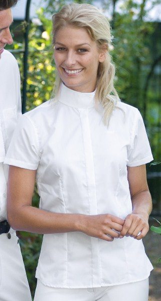 ELT White Show shirt Sonja - Freestyle Saddlery