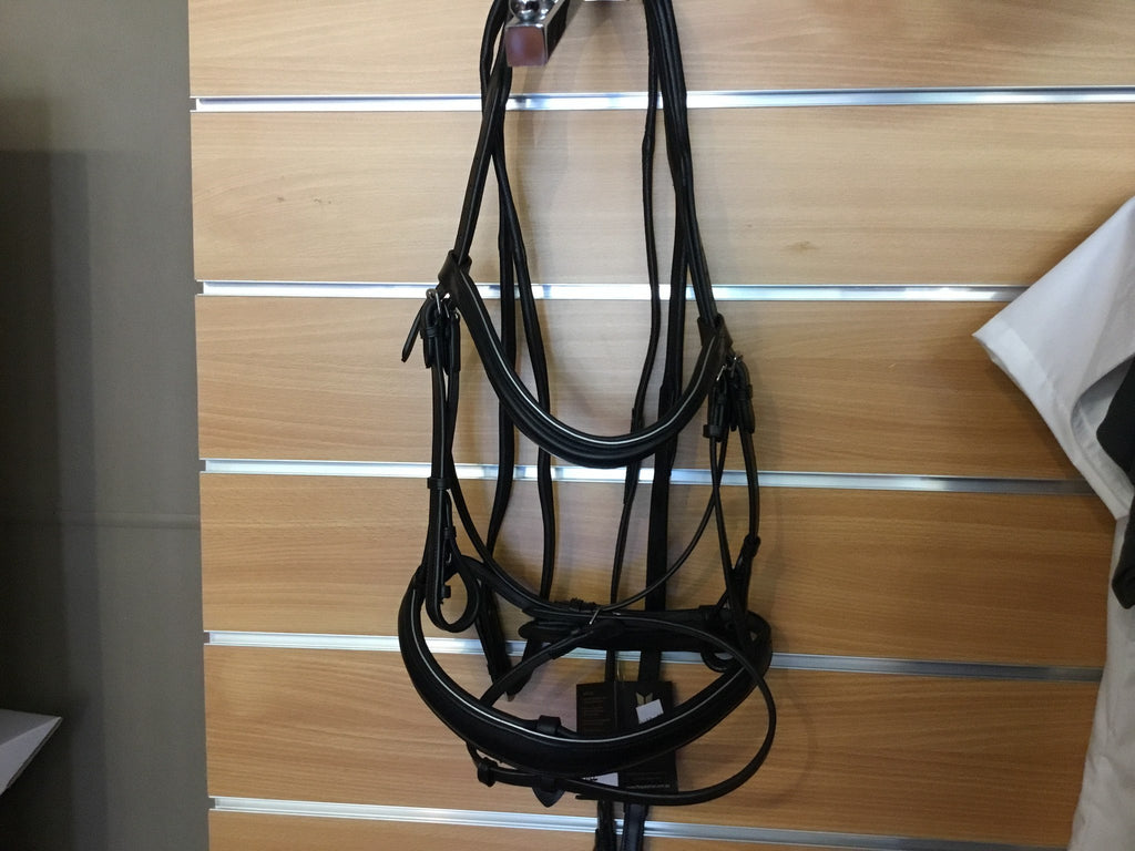 Flexifit Bridle English leather snaffle - Freestyle Saddlery