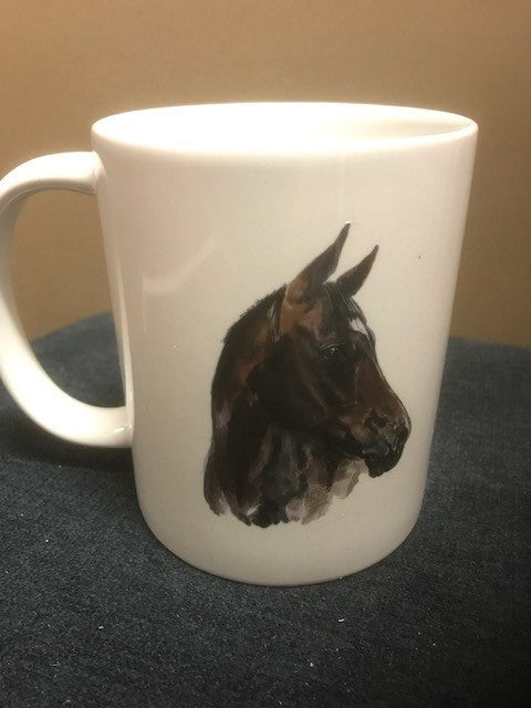 Coffee Cup Original hand painted designs - Freestyle Saddlery