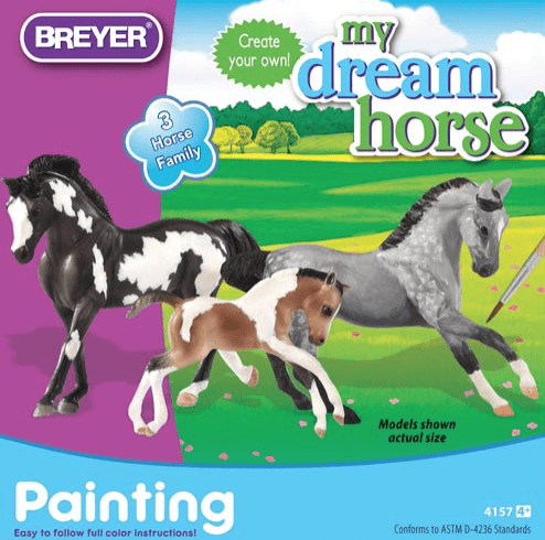 Breyer My Dream Horse painting kit - Freestyle Saddlery
