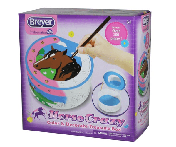 Breyer Treasure box craft set