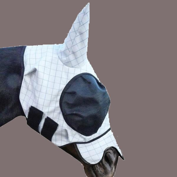 Wild Horse Fly Mask w/insect repellant Ripstop IRRFM - Freestyle Saddlery