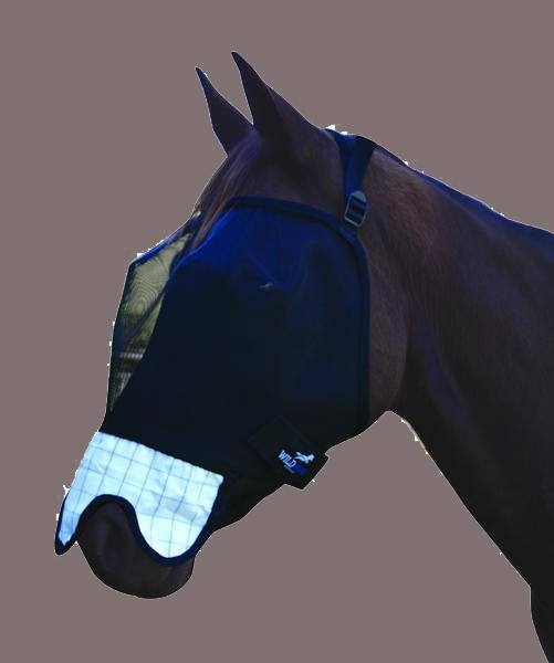 Wild Horse Fly Veil w/Ripstop nose FV3 - Freestyle Saddlery