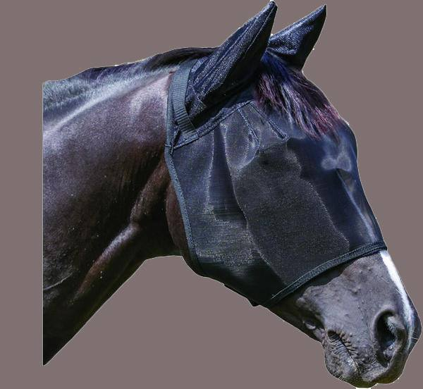 Wild Horse Fly veil w/ears - Freestyle Saddlery