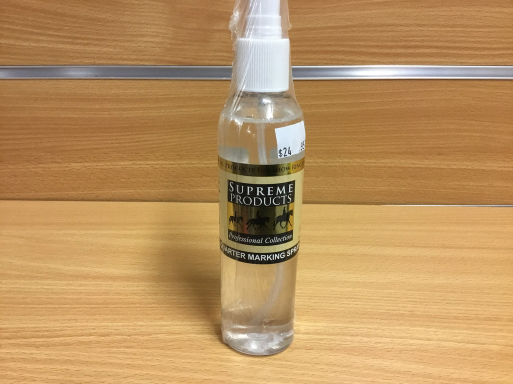 Supreme Quarter mark spray - Freestyle Saddlery