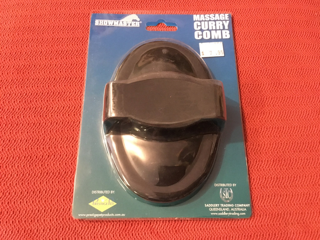 Massage Curry Comb - Freestyle Saddlery