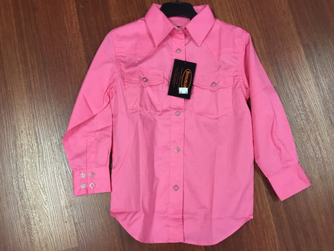 Shirt girls pink - Freestyle Saddlery