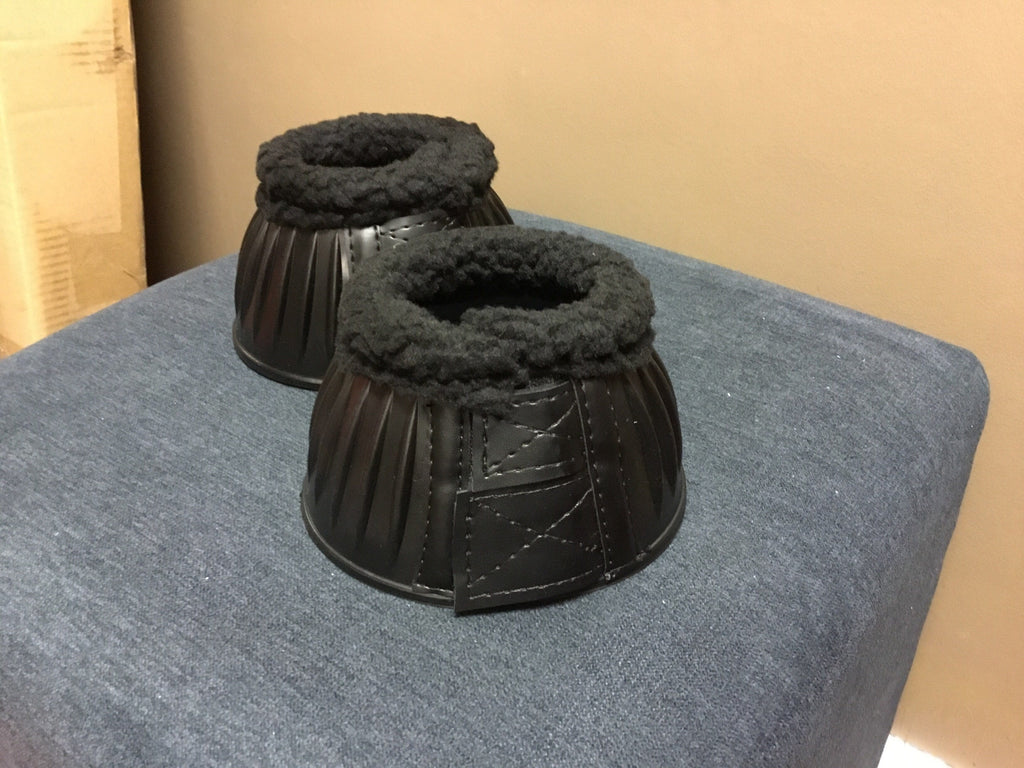 Rubber bell boot w/fleece edging. - Freestyle Saddlery