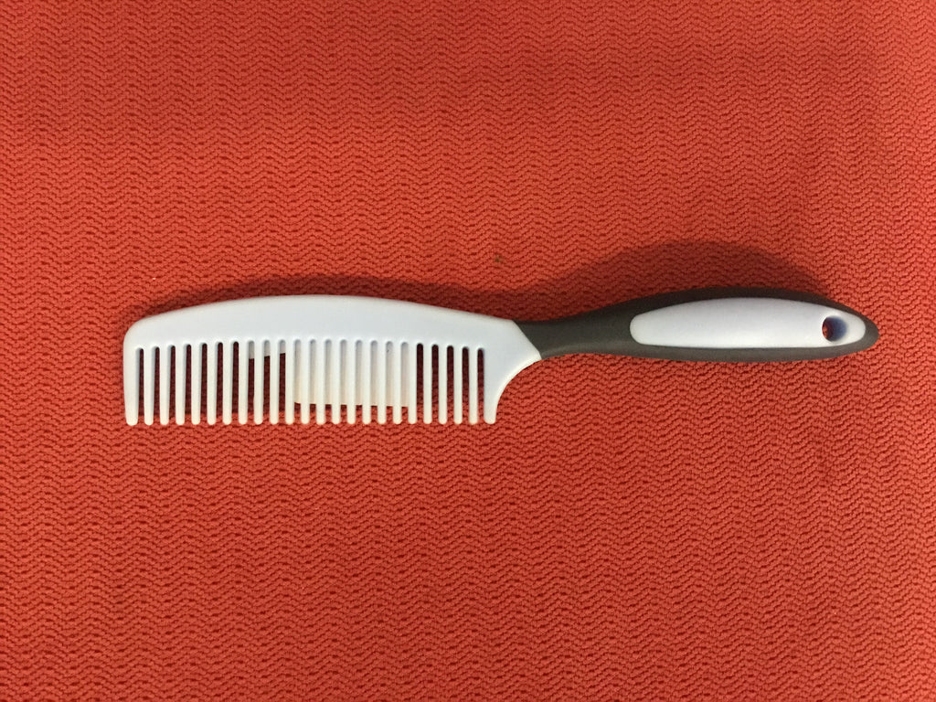 Mane and tail comb plastic - Freestyle Saddlery