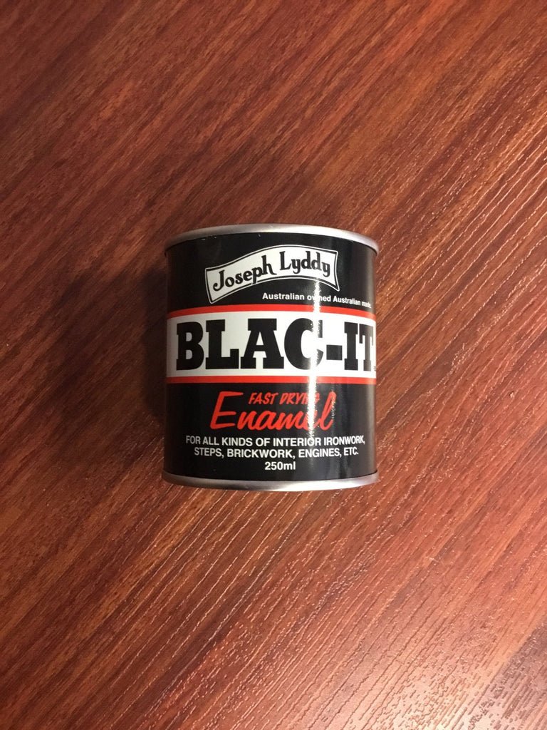 Blac-it Enamel - Freestyle Saddlery