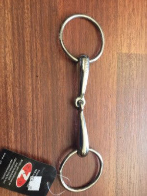 Bit hollow loose ring snaffle